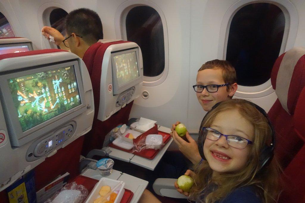 Hainan Airlines flight to China