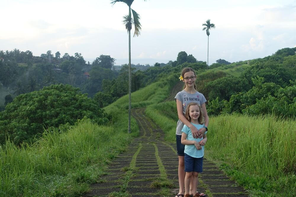 Ridge Walk trail in Bali
