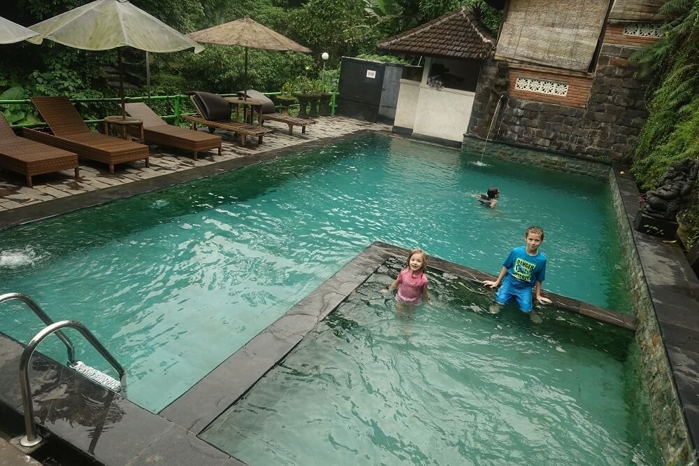 Pool at Ani's Villas Bali