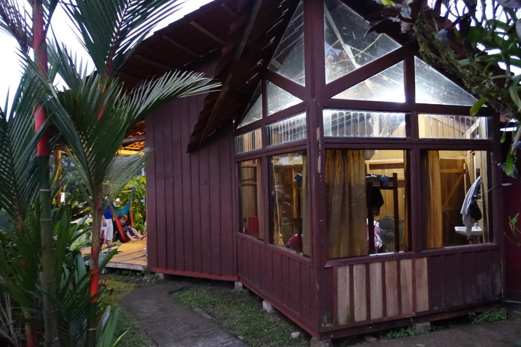 Our cabin at Cabinas La Catarata