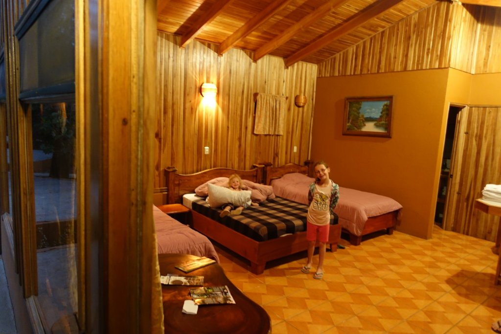 inside of Monteverde Villa Lodge