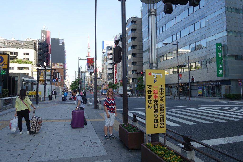 Walking in Japan