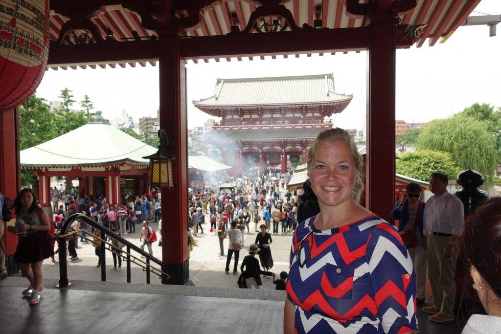 Inside a Japanese Shrine