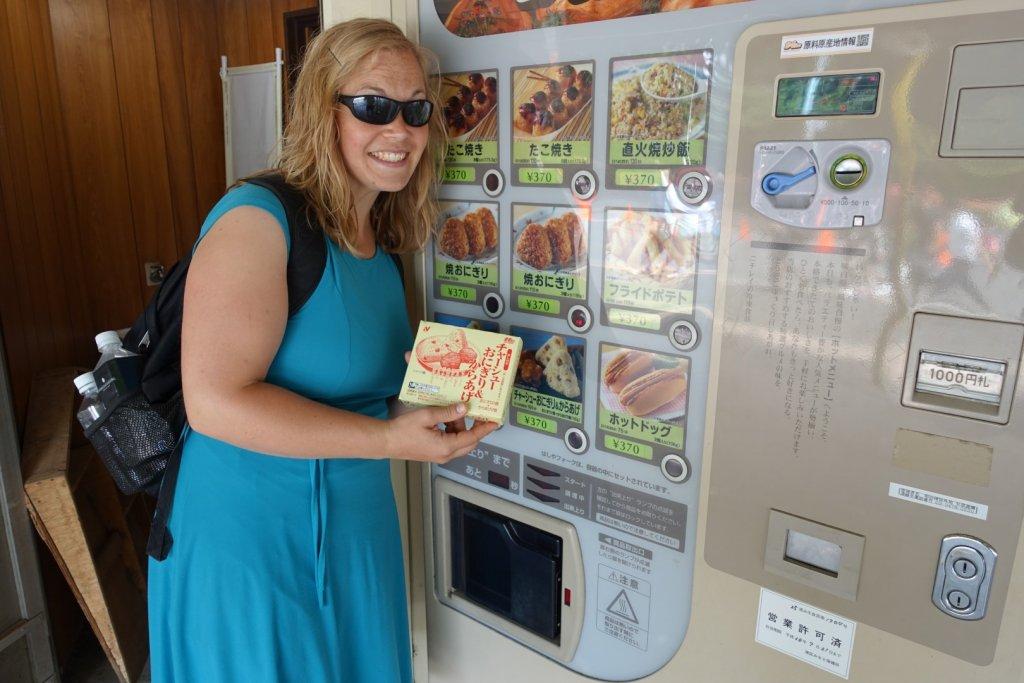 Warm food vending machine