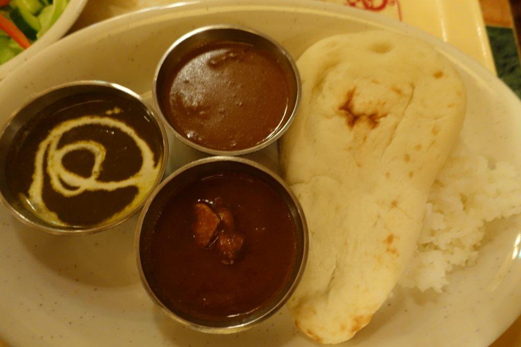 Curry meal at Tokyo Disneysea