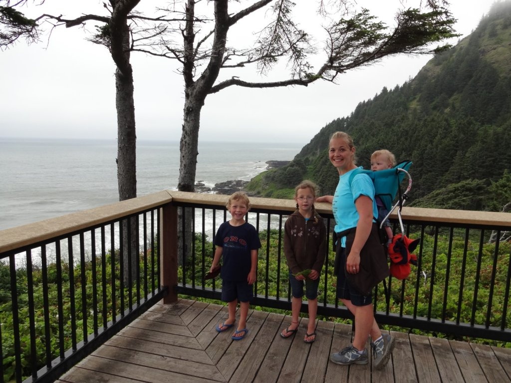 Hiking at Nehalem Bay State Park
