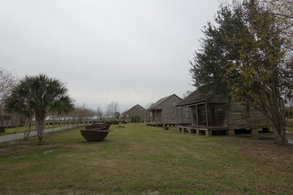 slave quarters at old plantation