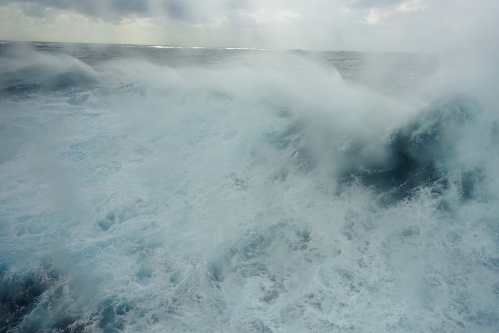 rough ocean water
