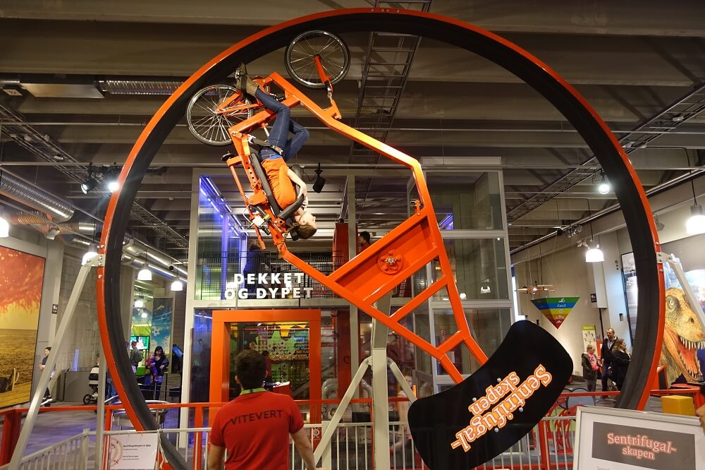 Bergen Science Center bike