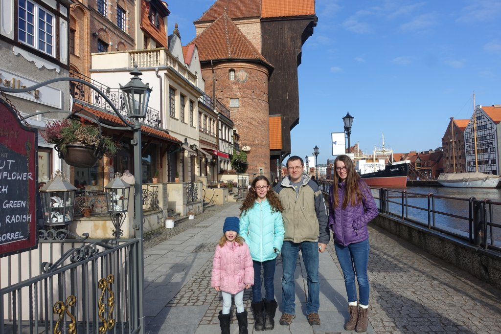 The Crane in Gdansk