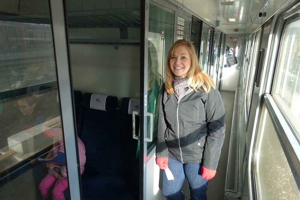 Train to Malbork