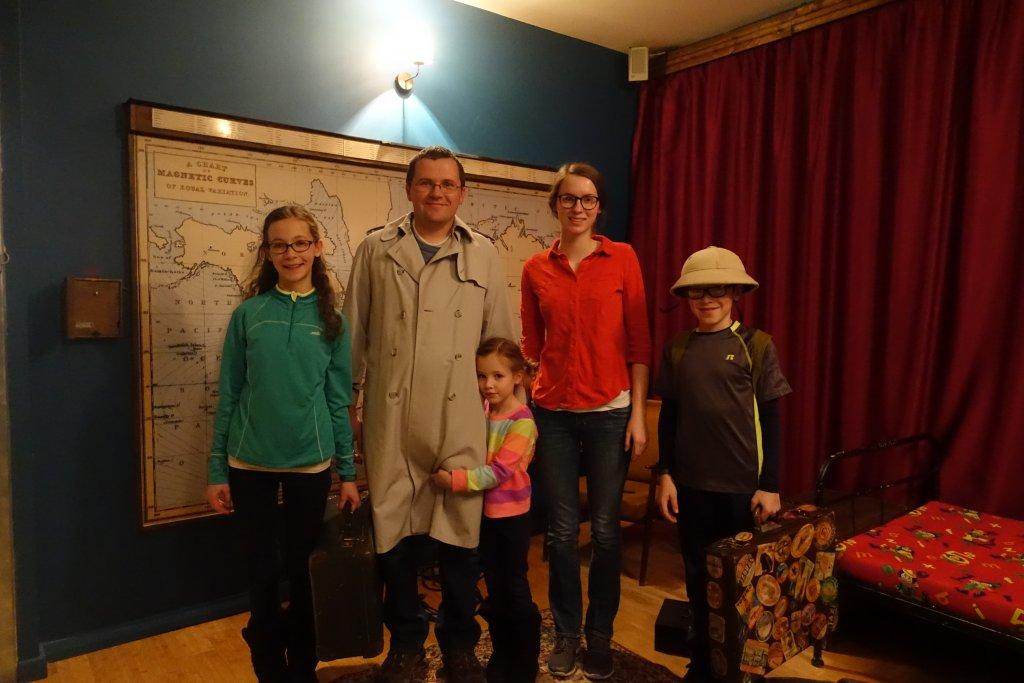 Escape room costumes
