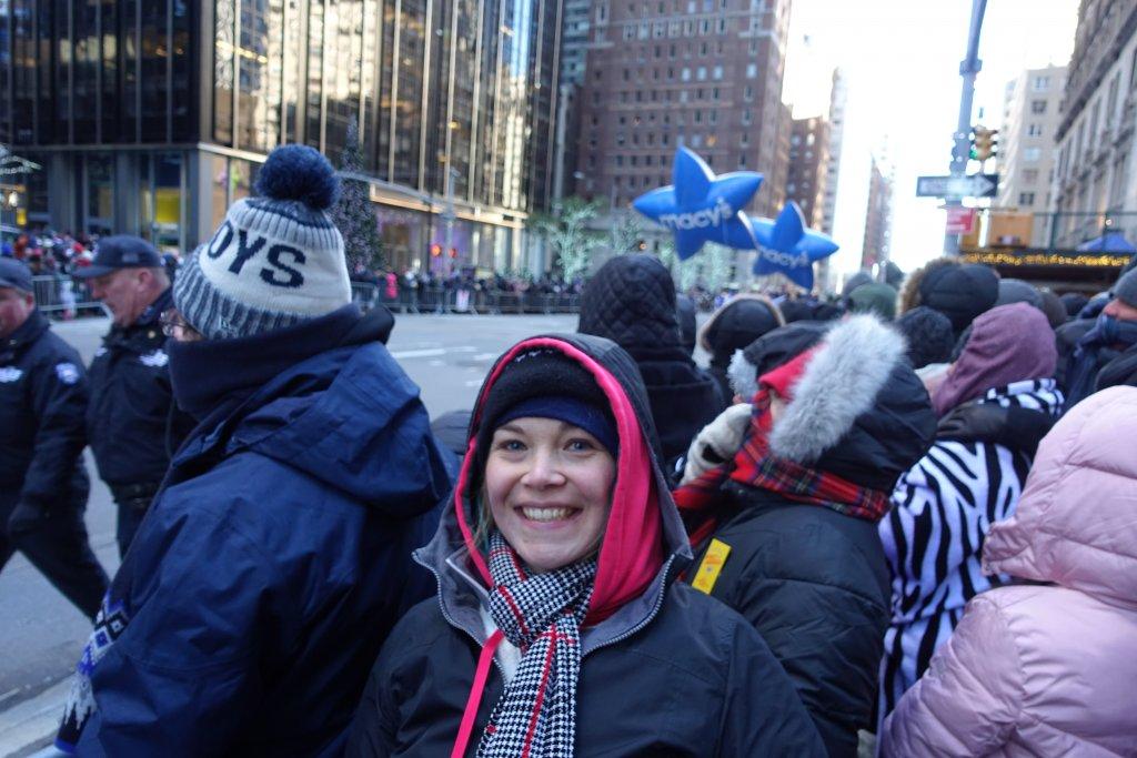 Macys balloons in parade