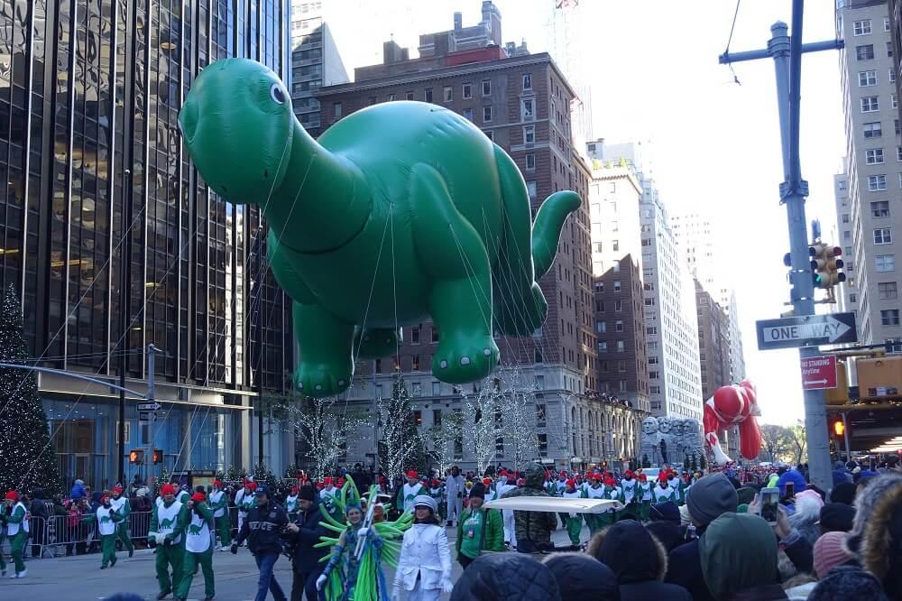 Big balloon in parade