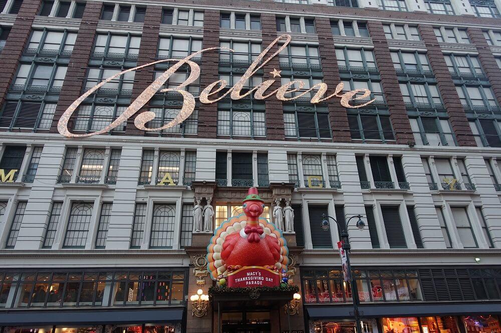Macys Department Store in New York City