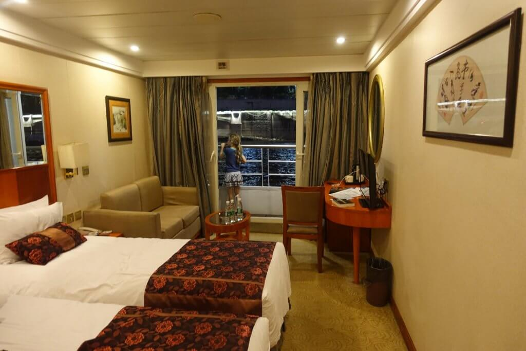 Bedroom on Century Diamond cruise