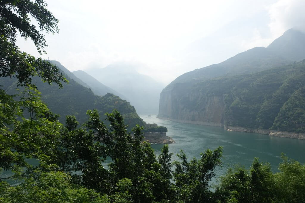 Gorge on the Yangtze River