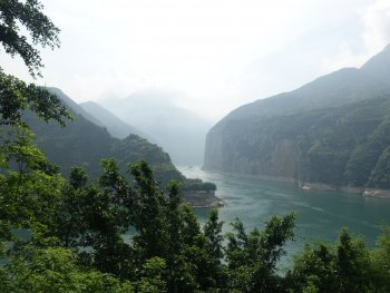Gorge on the Yangtze River