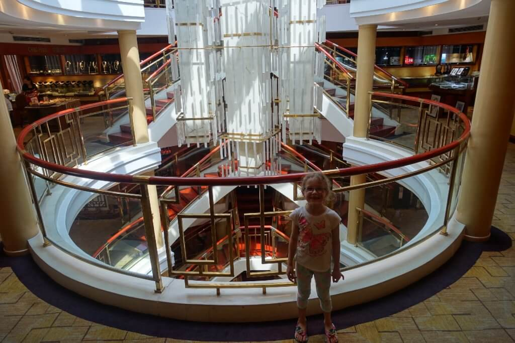 Atrium on the Century Diamond Ship