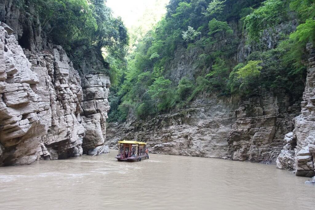 boat ride on Yangtze River