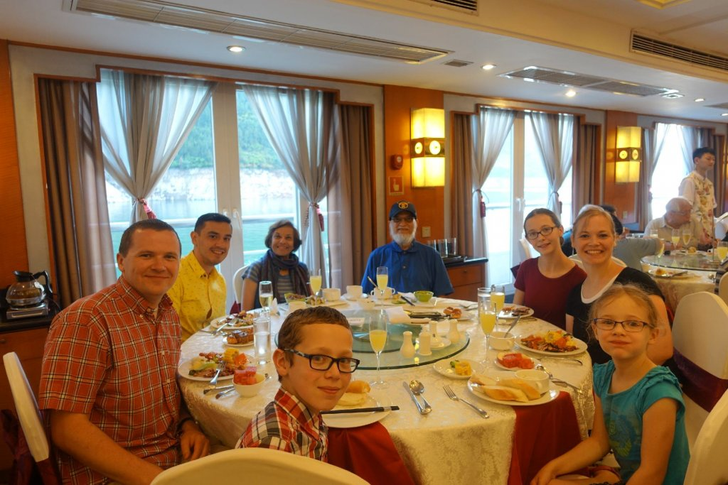 Dining on the Century Diamond Cruise