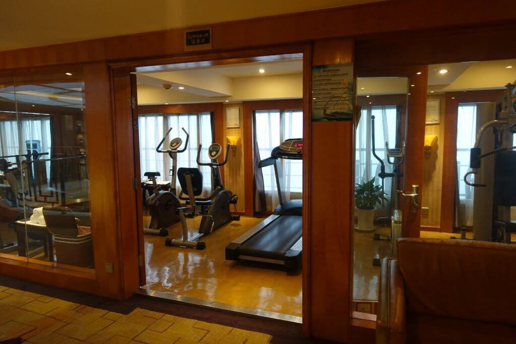 Exercise room on Century Diamond