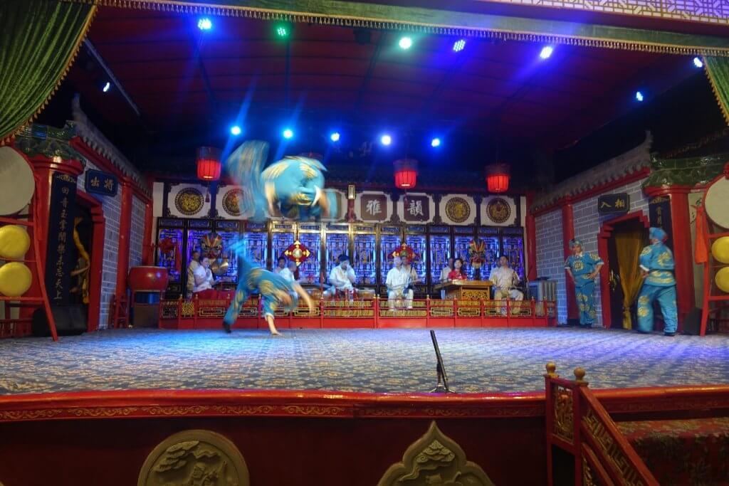 Sichuan Opera acrobats