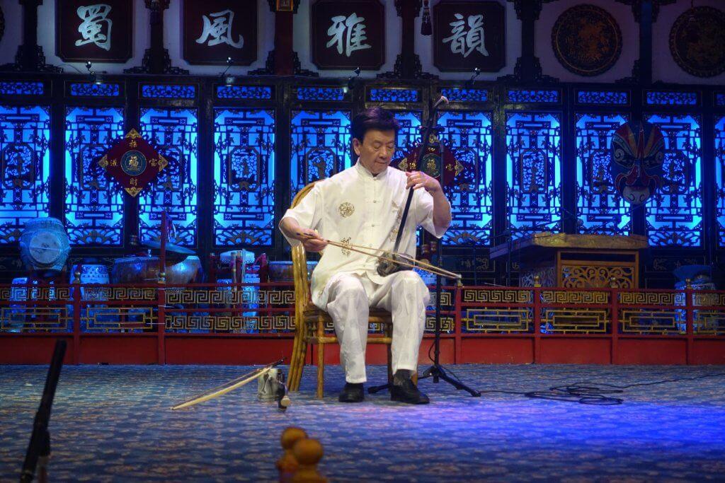 Chinese violin, or erhu