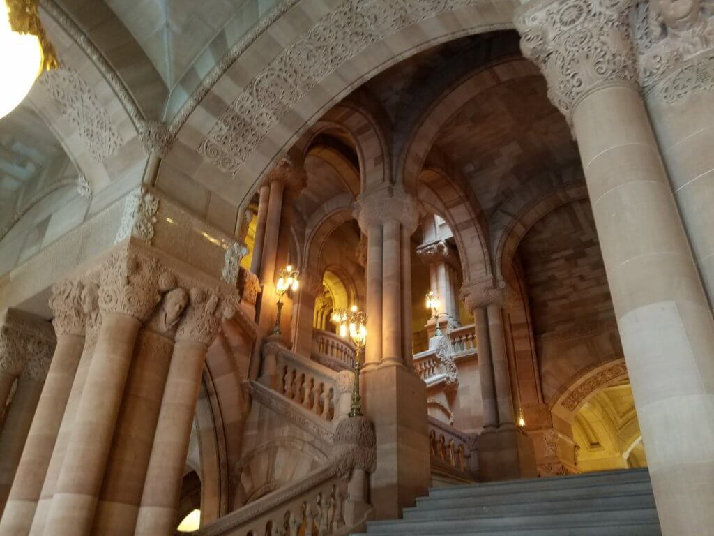 ornate staircase
