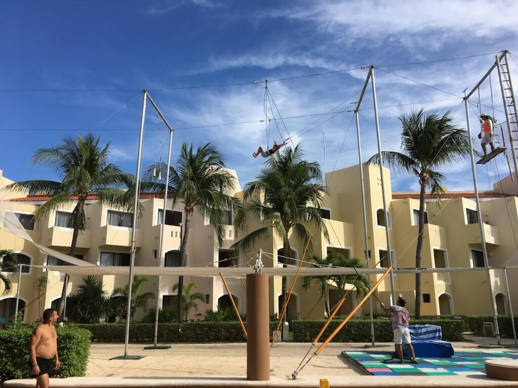trapeze course