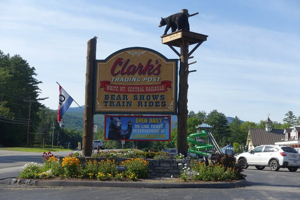 Clark's Trading Post sign