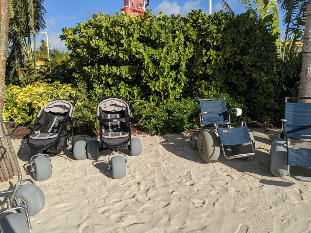 strollers and wheelchairs with big wheels