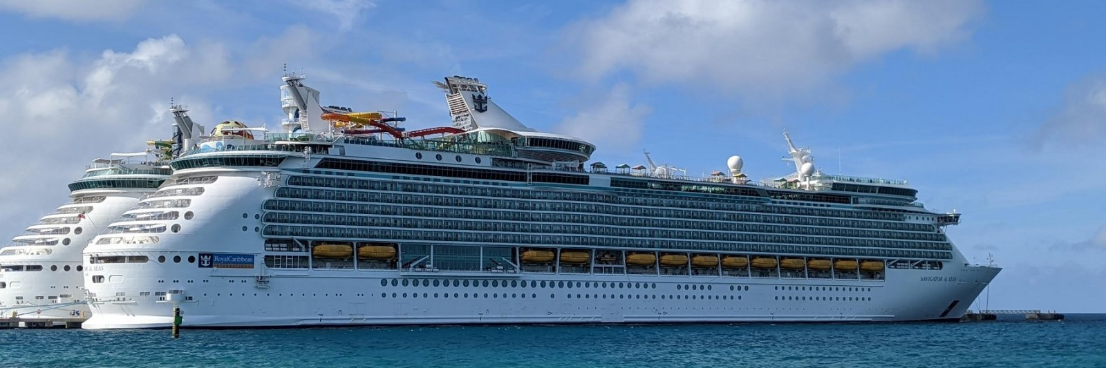 cruise ship in the water