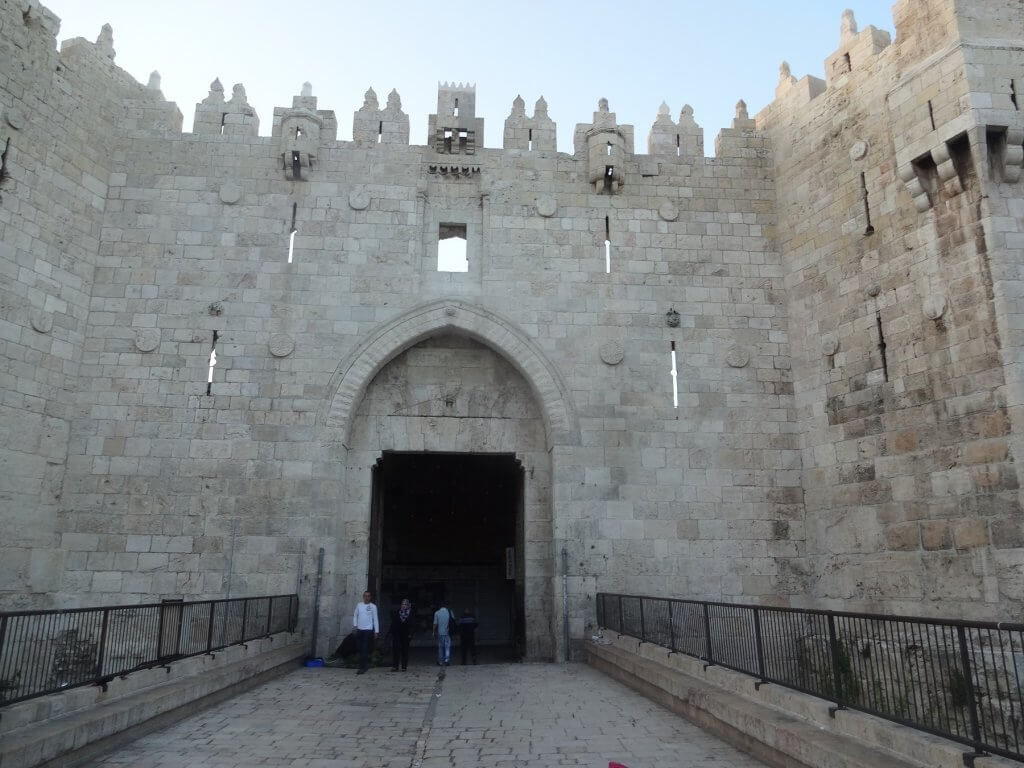 ancient gate into old city