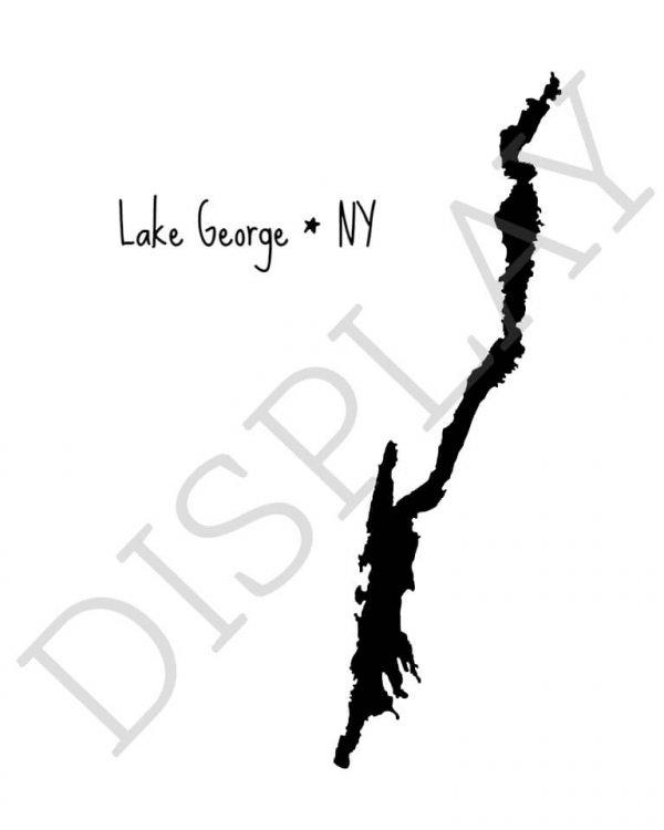 display image of lake drawing